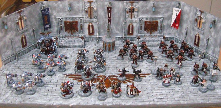 Mon armée de chevaliers gris SNC10609